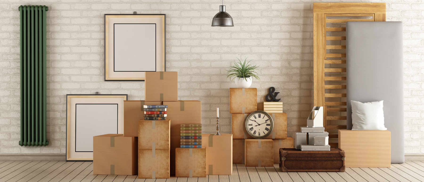 Image of moving into a new home as concept for wise living over 50s buying & selling property guides - from choosing the best estate agents to hiring removal companies