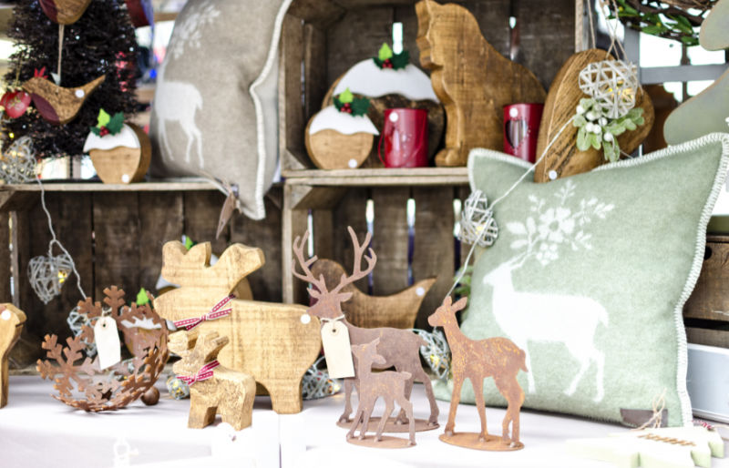 Christmas Markets 2019 – stall selling handmade gifts