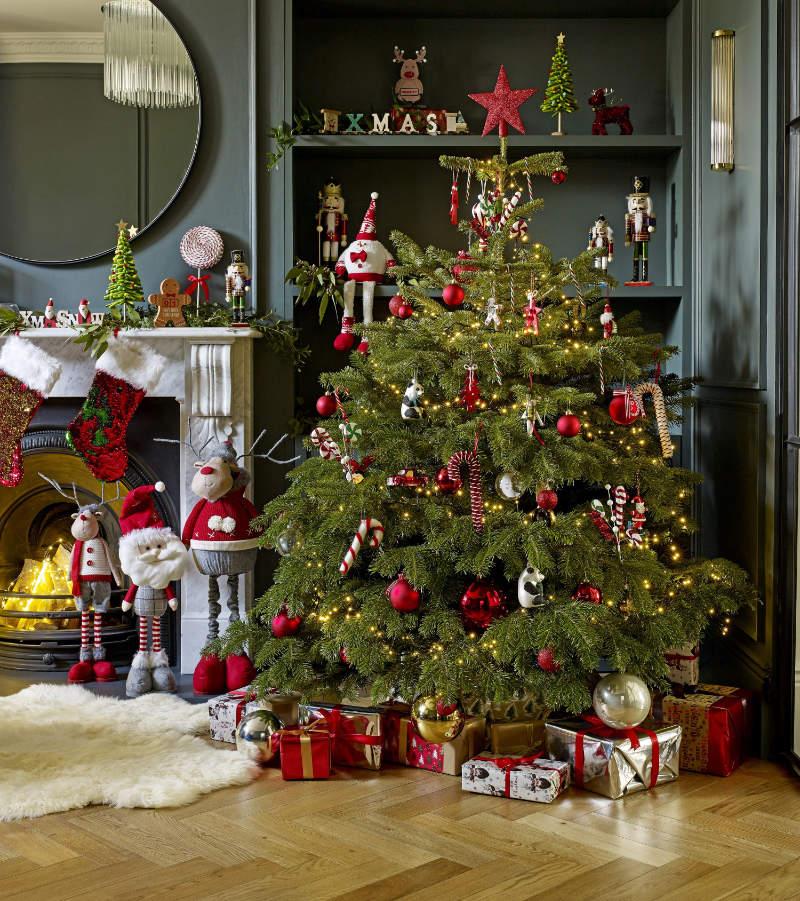 Christmas tree decor traditional Christmas Tree decorations