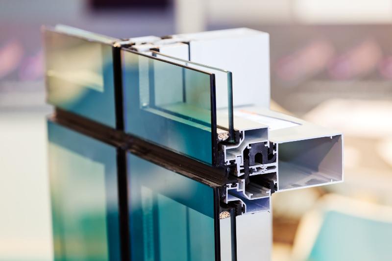 Modern, double glazed window unit