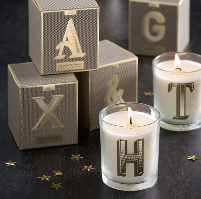 Homeware gifts Lemon and Bergamot Monogram Candle