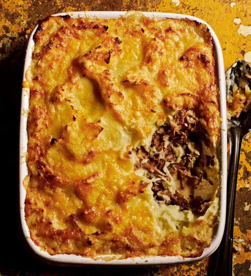 Duck cottage pie from Rick Stein's Secret France by Rick Stein