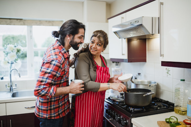 Adult children living at home need to help out with chores, bills and rent