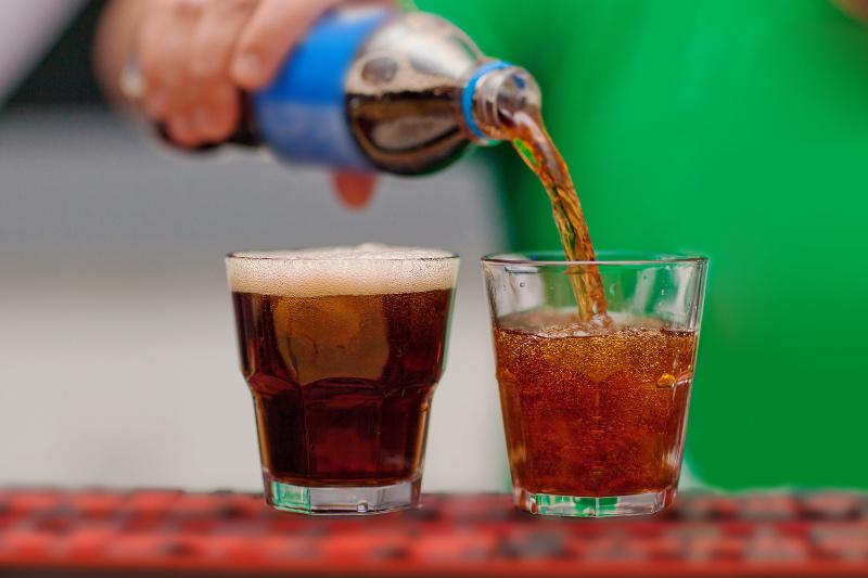 benign prostate enlargement fizzy drinks