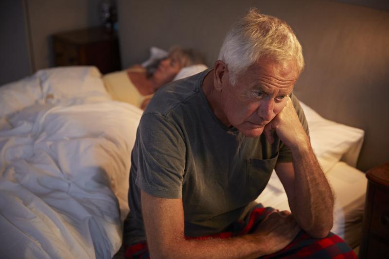 benign prostate enlargement sleep issues