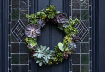 Christmas wreath crafting guide – make a wreath for your front door for 2019