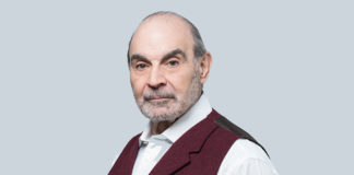David Suchet photo as part of a fitness interview and life as an older actor (Robin Sinha/PA)