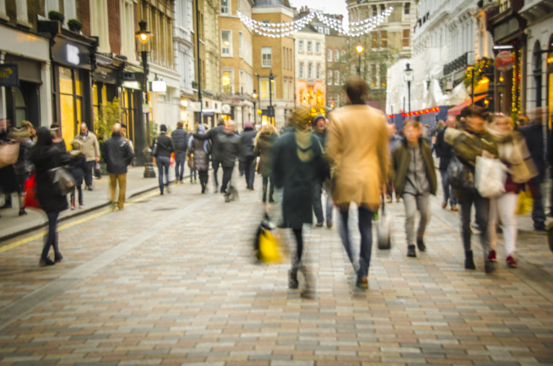 The high street is likely to be extra busy this Black Friday weekend.