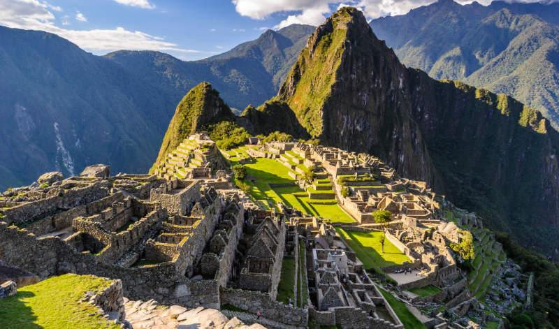 Photo of Machu Picchu, a world UNESCO heritage site