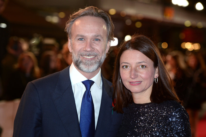 Marcus Wareing and wife Jane (Anthony Devlin/PA)