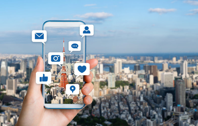 More digitally connected travel and on-the-go information is expected in 2020.
