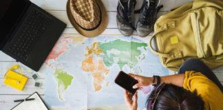 Top travel trends 2020 concept shot