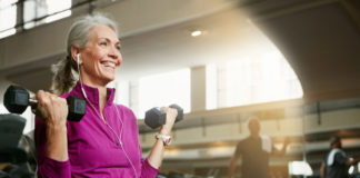 Weight lifting for seniors video and guide to safely exercising