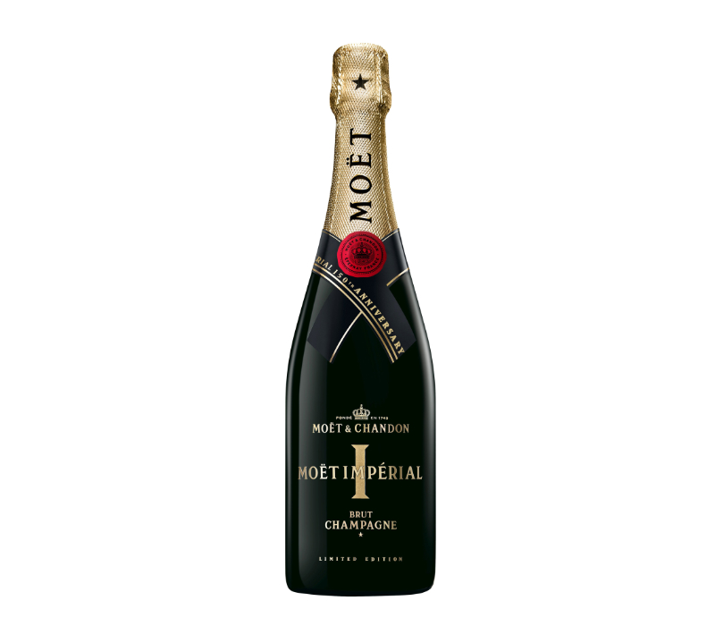 Champagne celebration Moet & Chandon Limited Edition 150th Anniversary Impérial Champagne NV