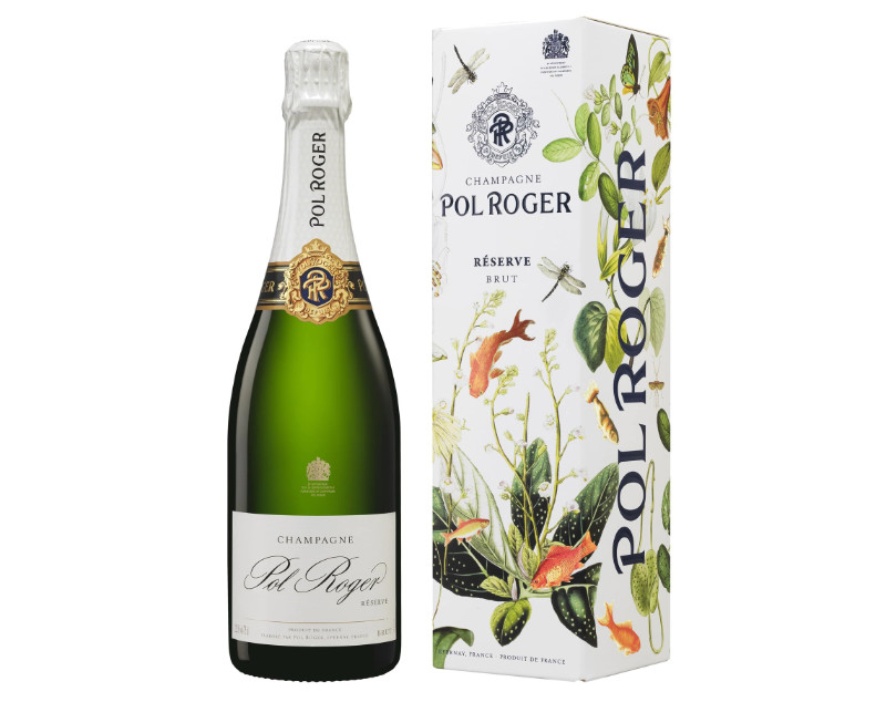 Champagne celebration Champagne Pol Roger Brut Reserve Limited Edition NV