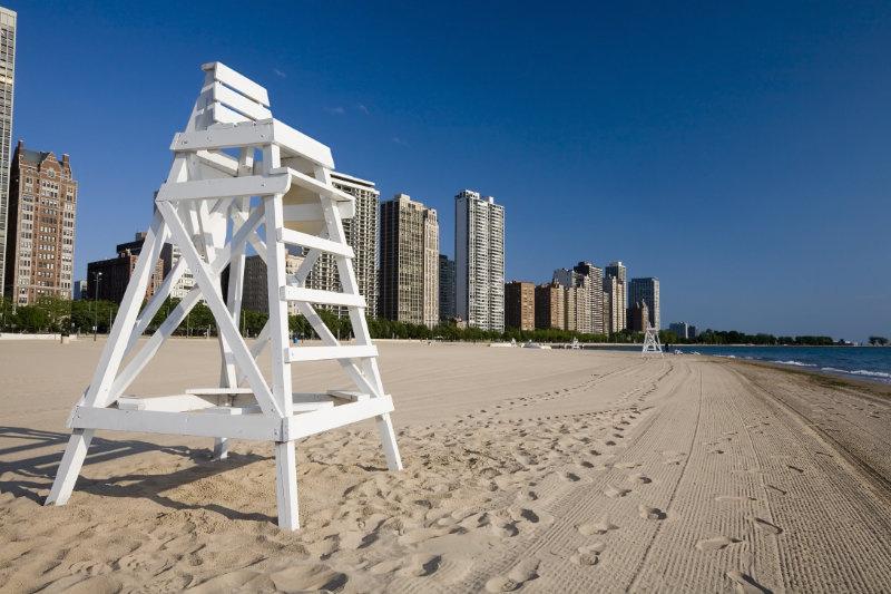 Lake Michigan Beach, Chicago