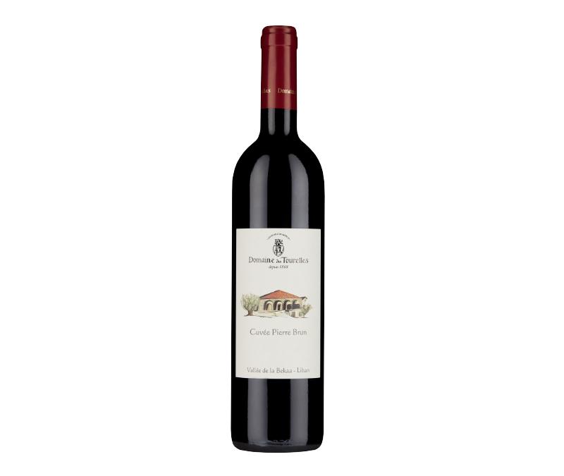 Christmas wines Domaine des Tourelles, Cuvee Pierre Brun, Lebanon, Majestic