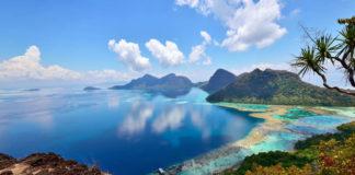 Exotic island destination Borneo, as seen in Earth's Tropical Islands (Nokuro/PA)