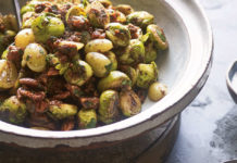 Sticky Fried Lebanese Sprouts (Nassima Rothacker/PA)