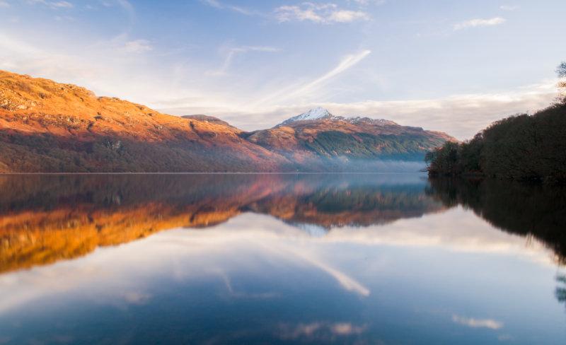 Wild swimming UK - Loch Lomond