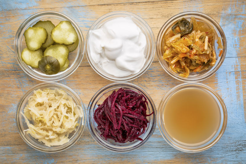Fermented foods are good for gut health