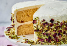 Nadiya Hussain Ras malai Cake