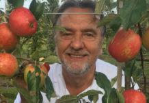 Raymond Blanc with apples