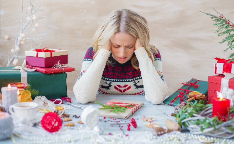 Wellbeing Christmas tips Don't try to do everything at once