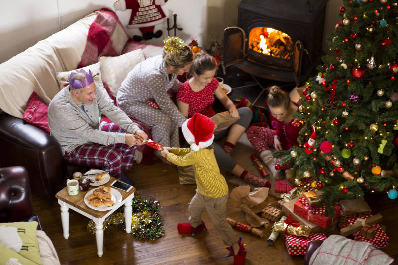 The chaos of Christmas day can mean choking hazards (Thinkstock/PA)