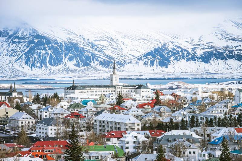 best European cities to visit in winter Reykjavik