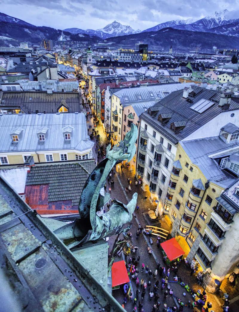 best European cities to visit in winter Innsbruck