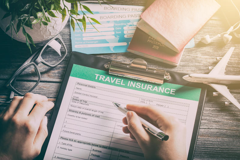 Be upfront about any health issues when buying a travel insurance policy.