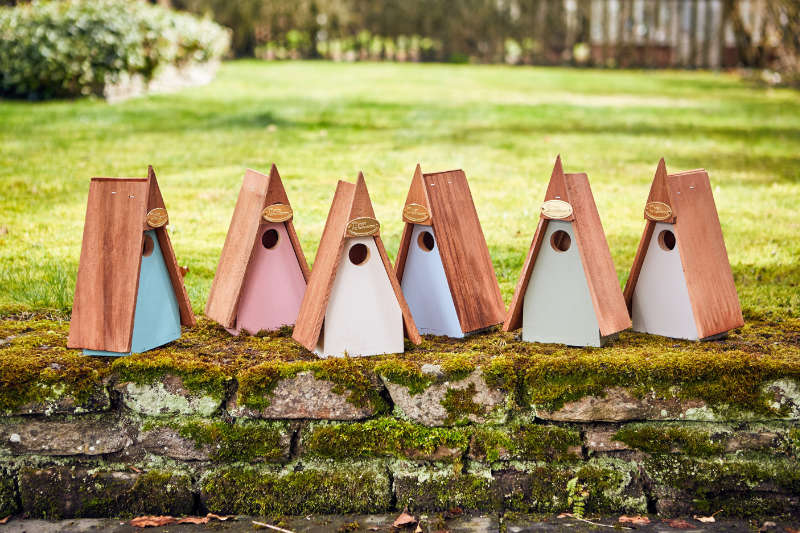 Posh bird boxes are all the rage (The Posh Shed Company/PA)