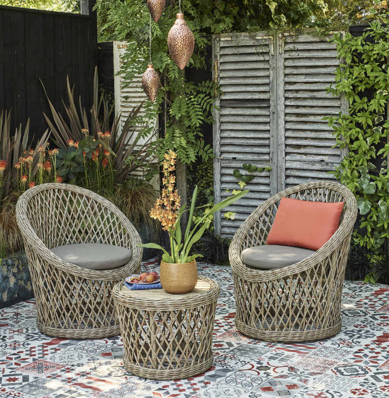 Warm tones will be in fashion as one of the garden trends 2020 (Dobbies Garden Centres/PA)