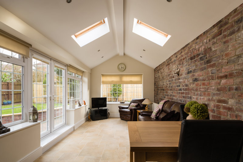 An extension is more involved by can increase living space and boost selling price.