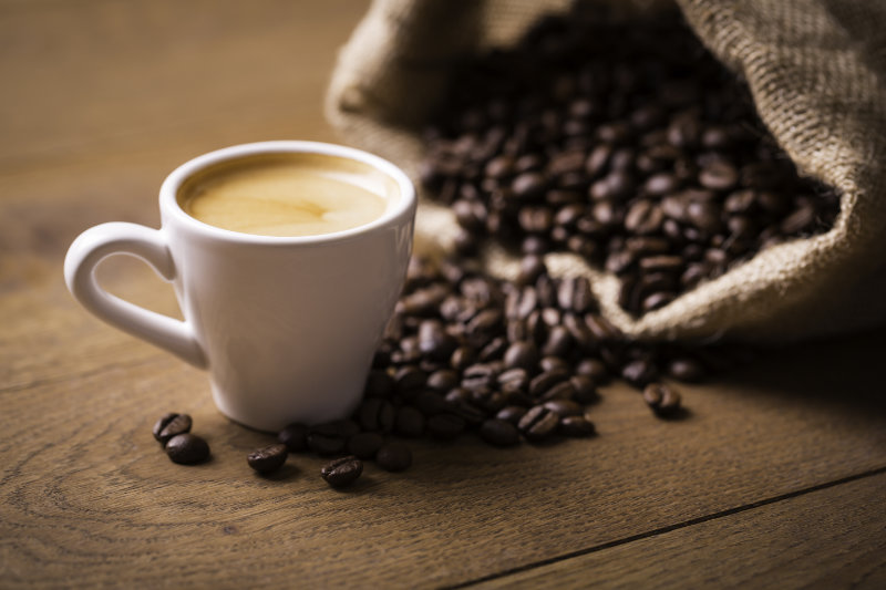 Give your body a jolt with an espresso.