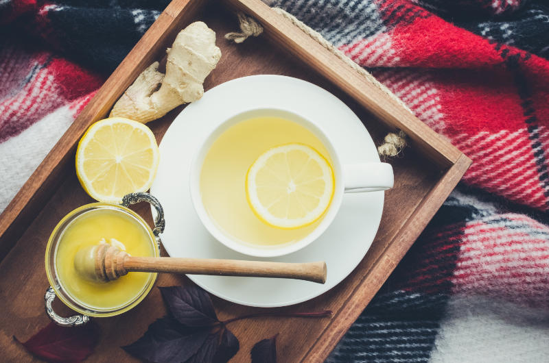 How to cure a hangover quickly with ginger.