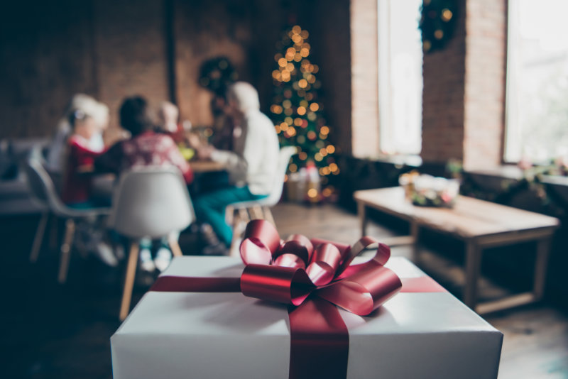 Discuss presents and gifts beforehand to reduce family stress at Christmas