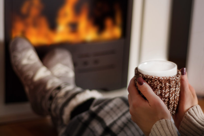 Learn how to keep your home warm during winter and relax.