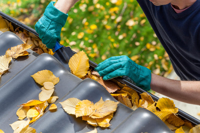 Clearing our gutters can prevent problems during winter.