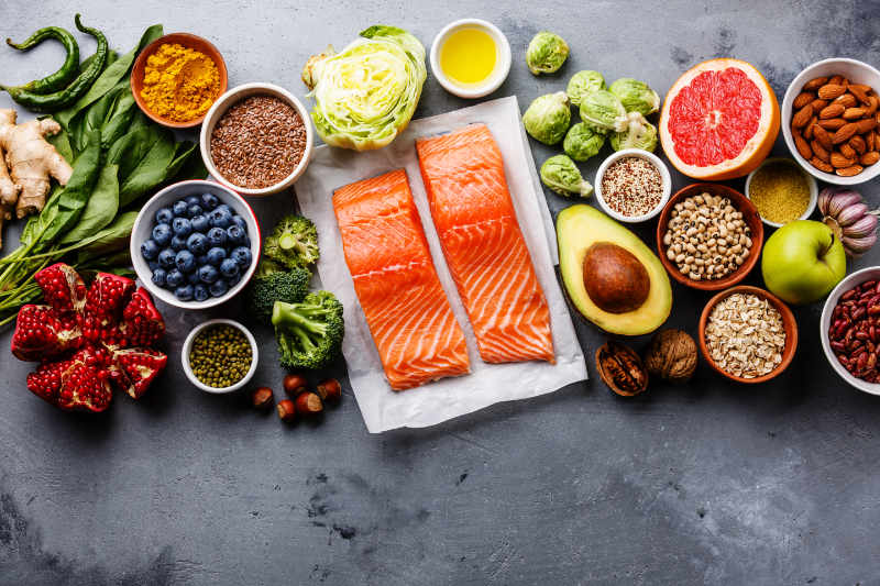 Eating the right food such as salmon is one way of how to look after your eyes.