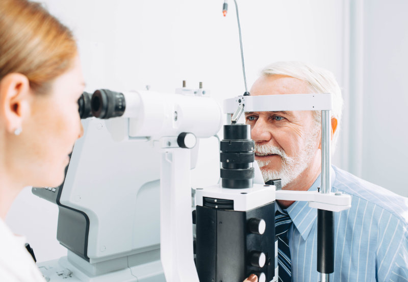 Regular eye check-ups will help spot any potential eye health problems.