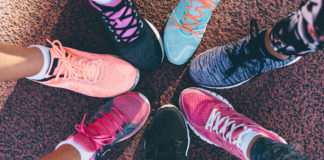 How to select running shoes for a marathon.
