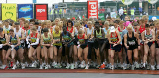 Preparing for your first marathon – The elite women line up for the start of the London Marathon (Martin Hayhow/PA)