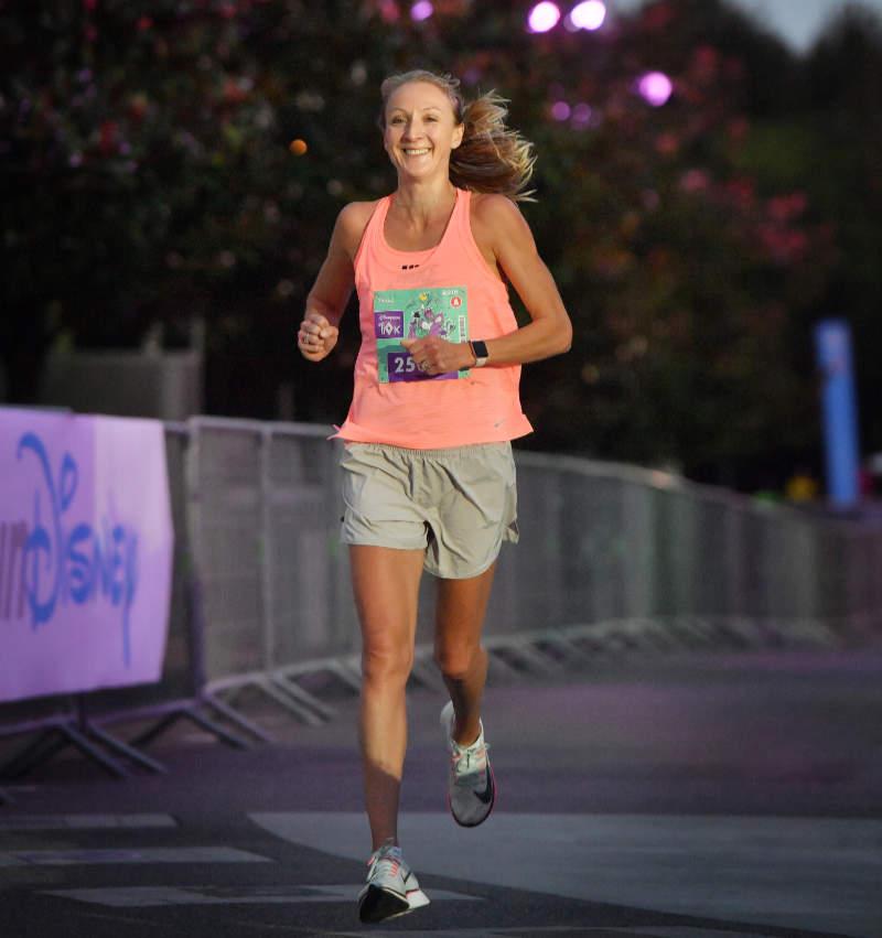 Paula Radcliffe on preparing for your first marathon (Disneyland Paris/PA)