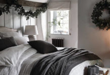 Spare guest room ideas for Christmas