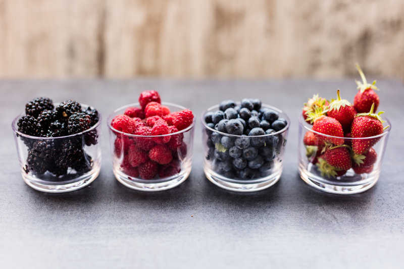 Quick, easy, tasty and healthy - add some berries to your diet.