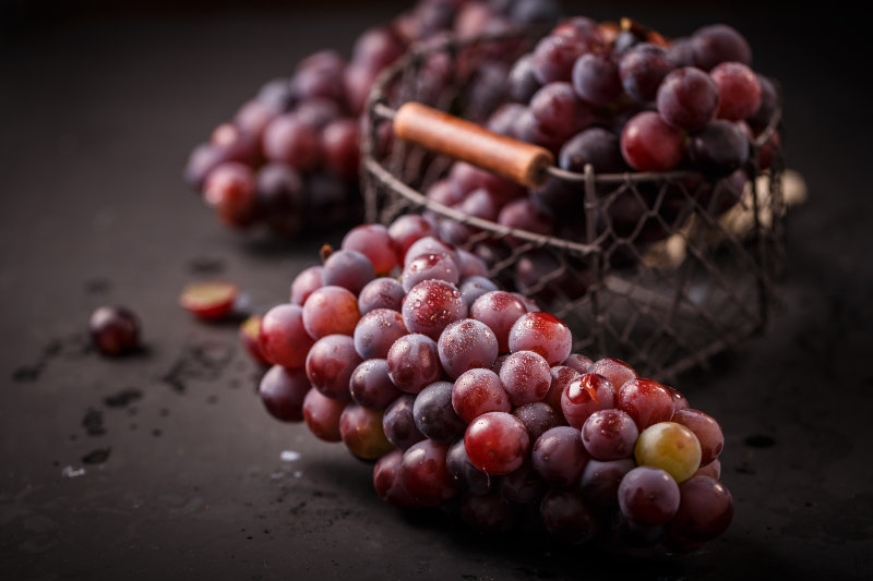 Not just for hospital visits, grapes are one of the top foods for joint health.