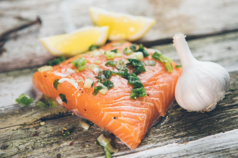 Oily fish such as salmon are some of the top foods for joint health