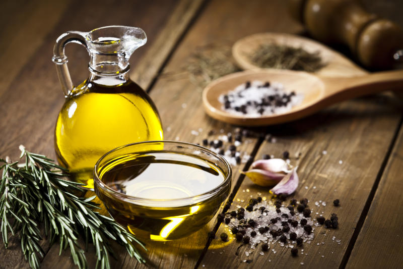 Olive oil forms part of the famed Mediterranean diet